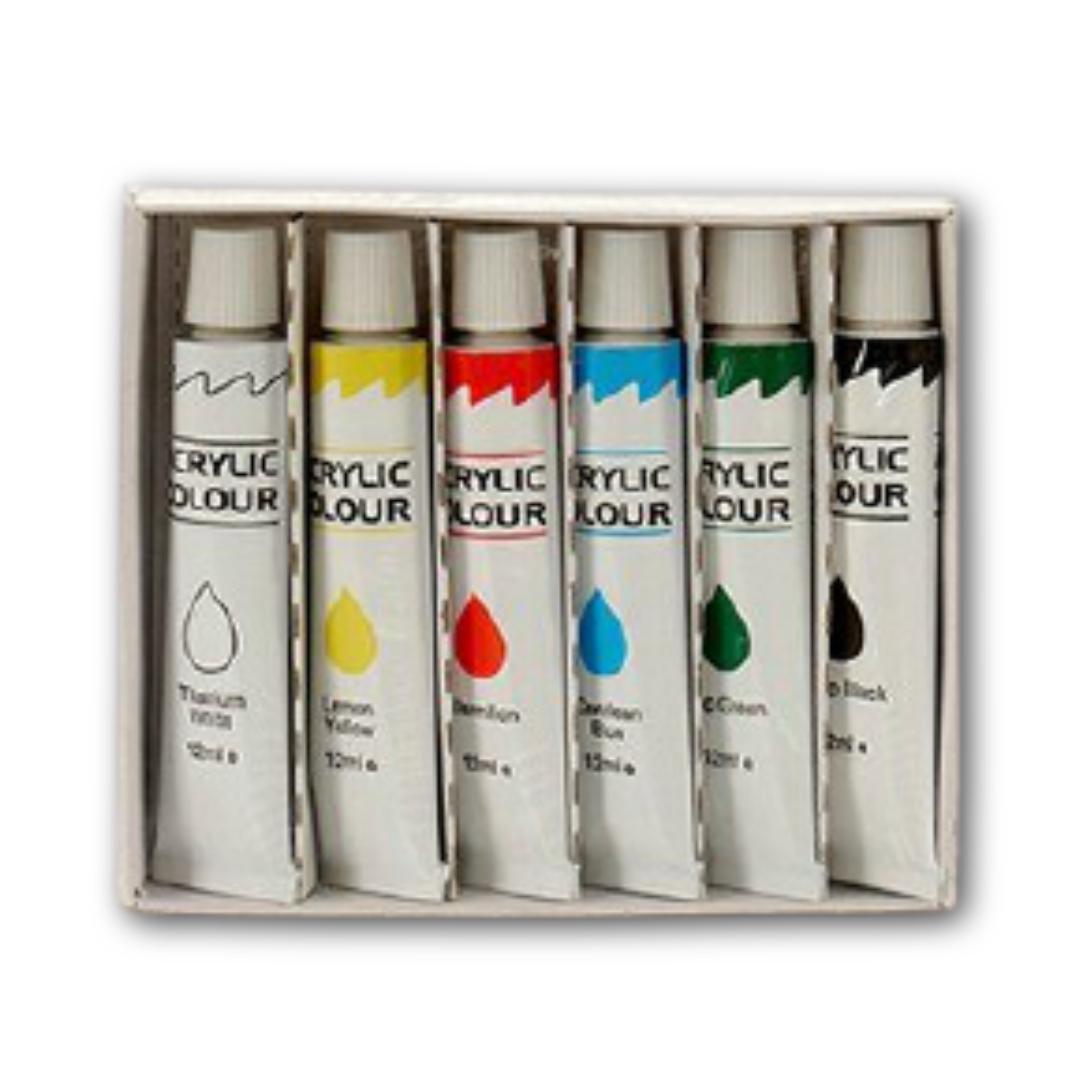 Akril festék (6 darab)