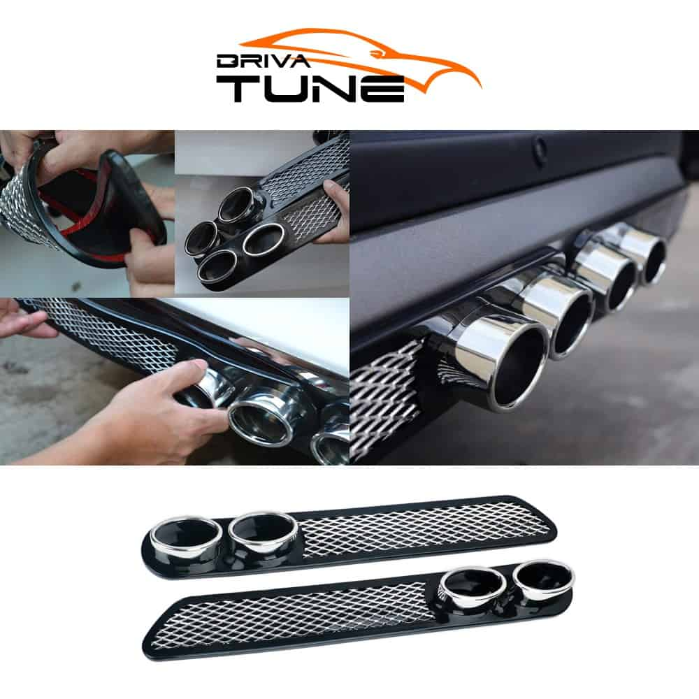 DRIVA TUNE® Sportautó Kipufogócső Matrica